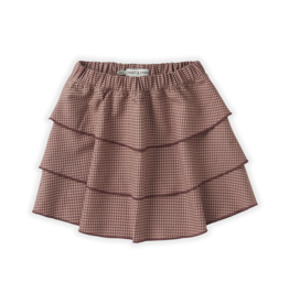 Sproet & Sprout Skirt mini check | Rose