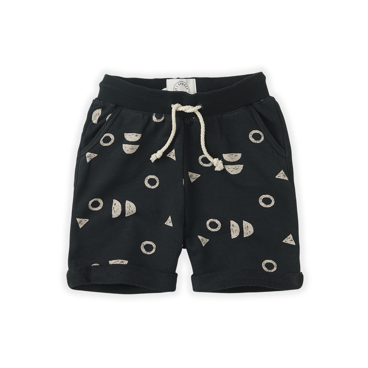 Sproet & Sprout Short print Abstract |  Asphalt