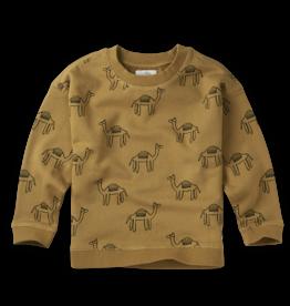 Sproet & Sprout Sweatshirt Print Camel | Dessert