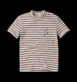 Sproet & Sprout Turtleneck stripe | Rose