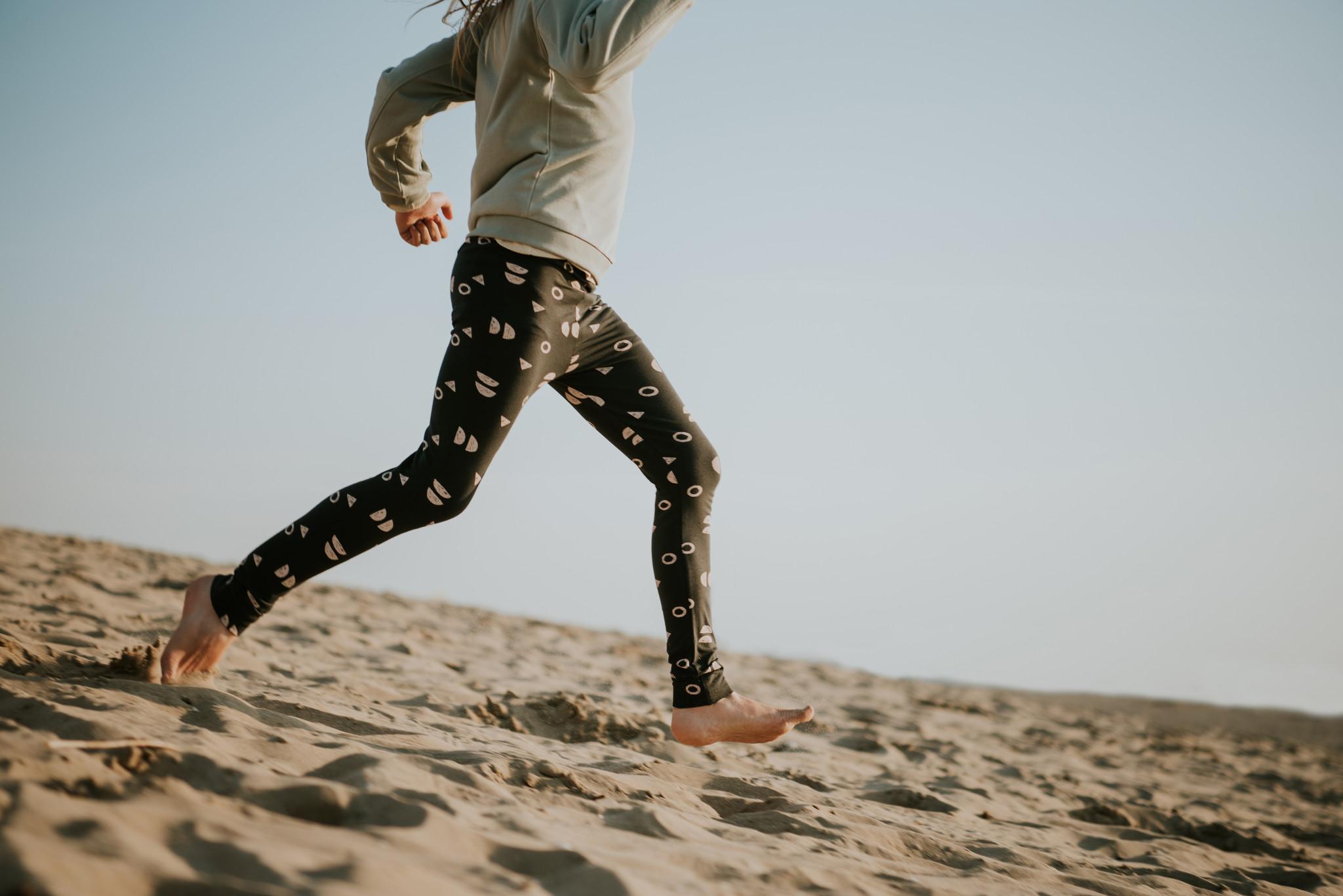 Sproet & Sprout Legging print Abstract | Asphalt