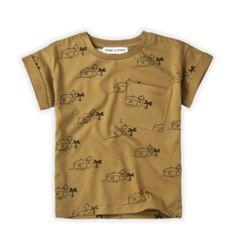 Sproet & Sprout T-shirt print Oase | Dessert