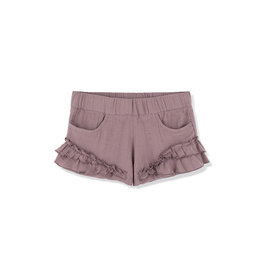 Kids on the moon FOGGY DAY RUFFLE SHORTS