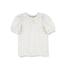 Kids on the moon LEOPARD MIST PUFF TOP