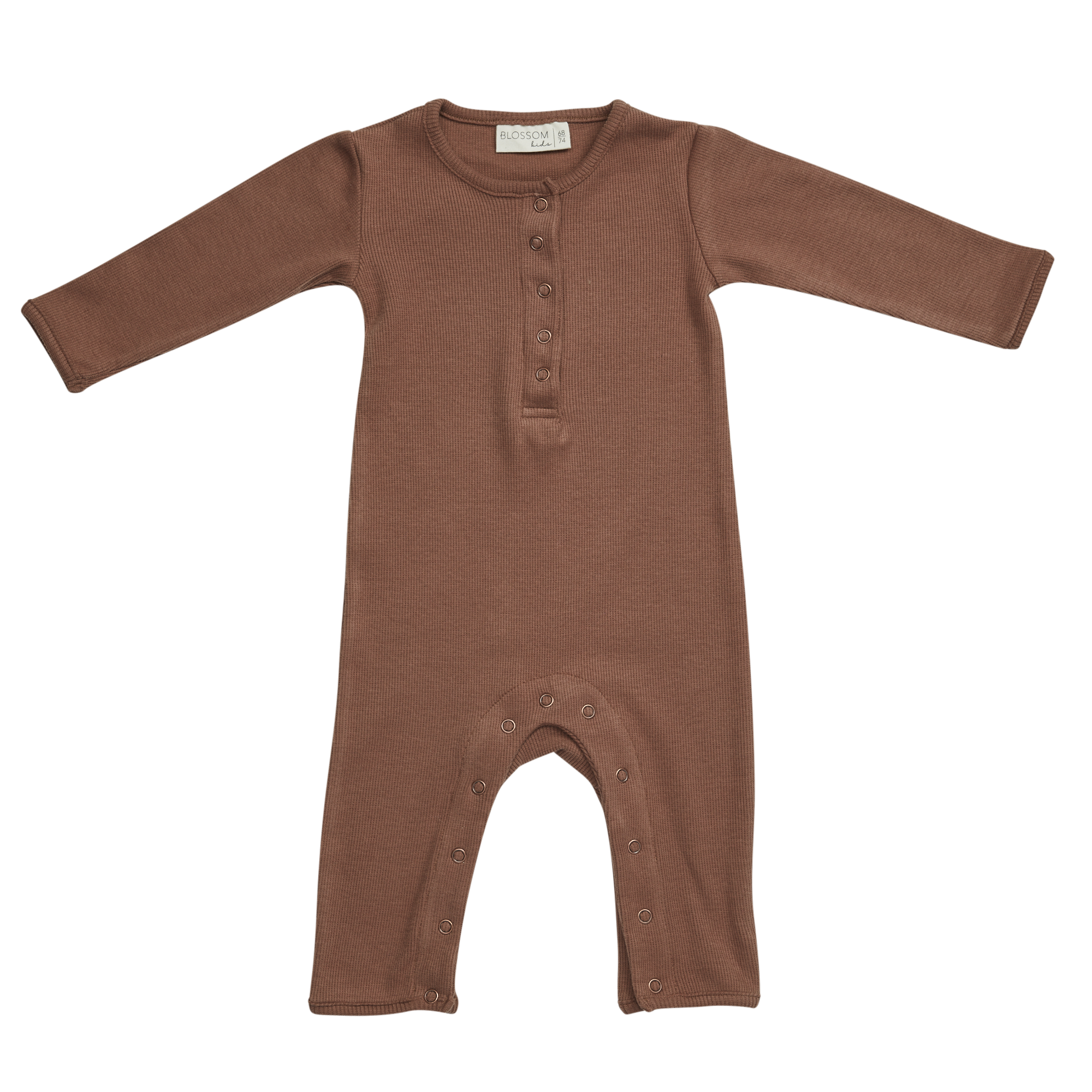 Blossom kids Playsuit - Smoked Hazelnut
