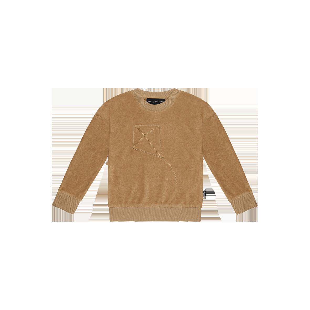 House of Jamie Crewneck Sweater | Apple cider