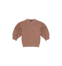 House of Jamie Balloon Sweater   Baked clay