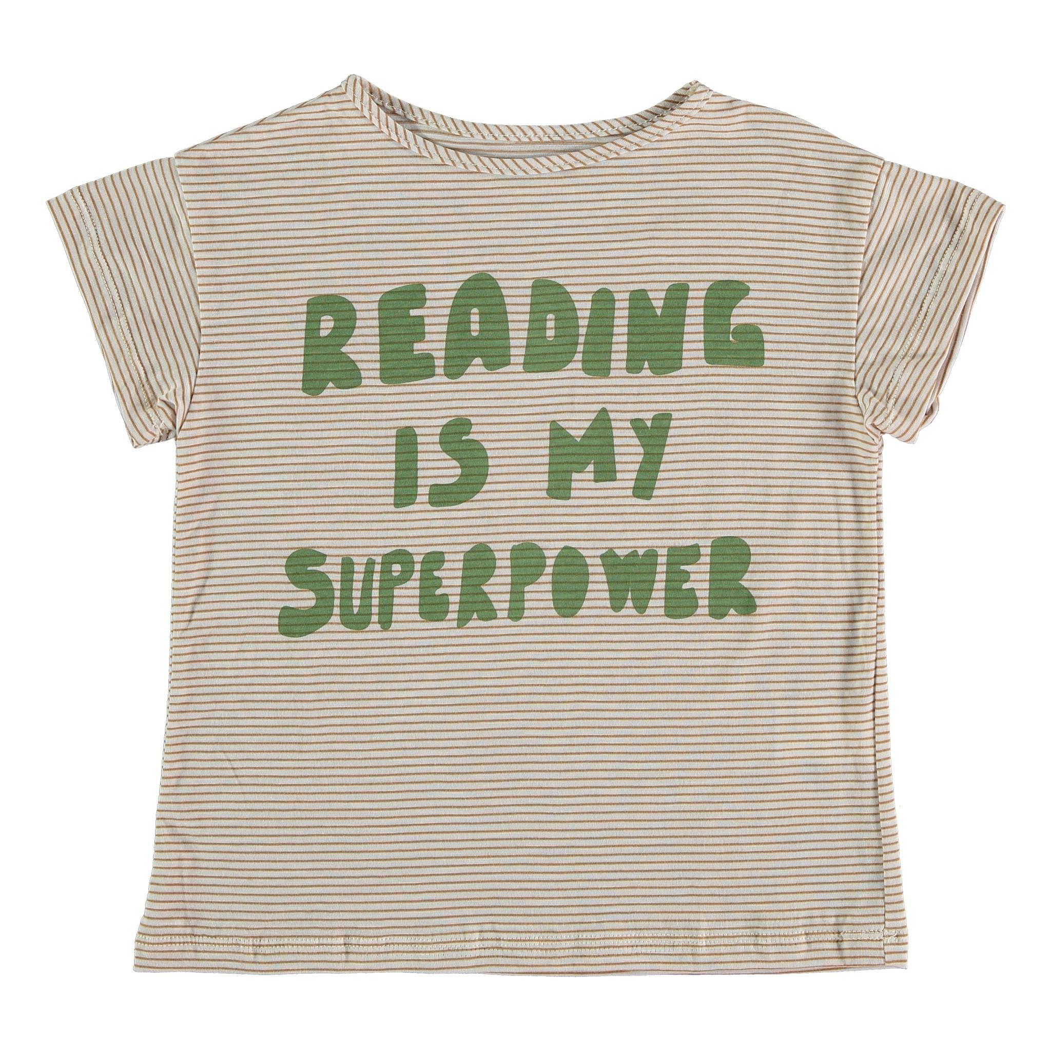 Pinata Pum T-shirt Palmer | Striped superpower