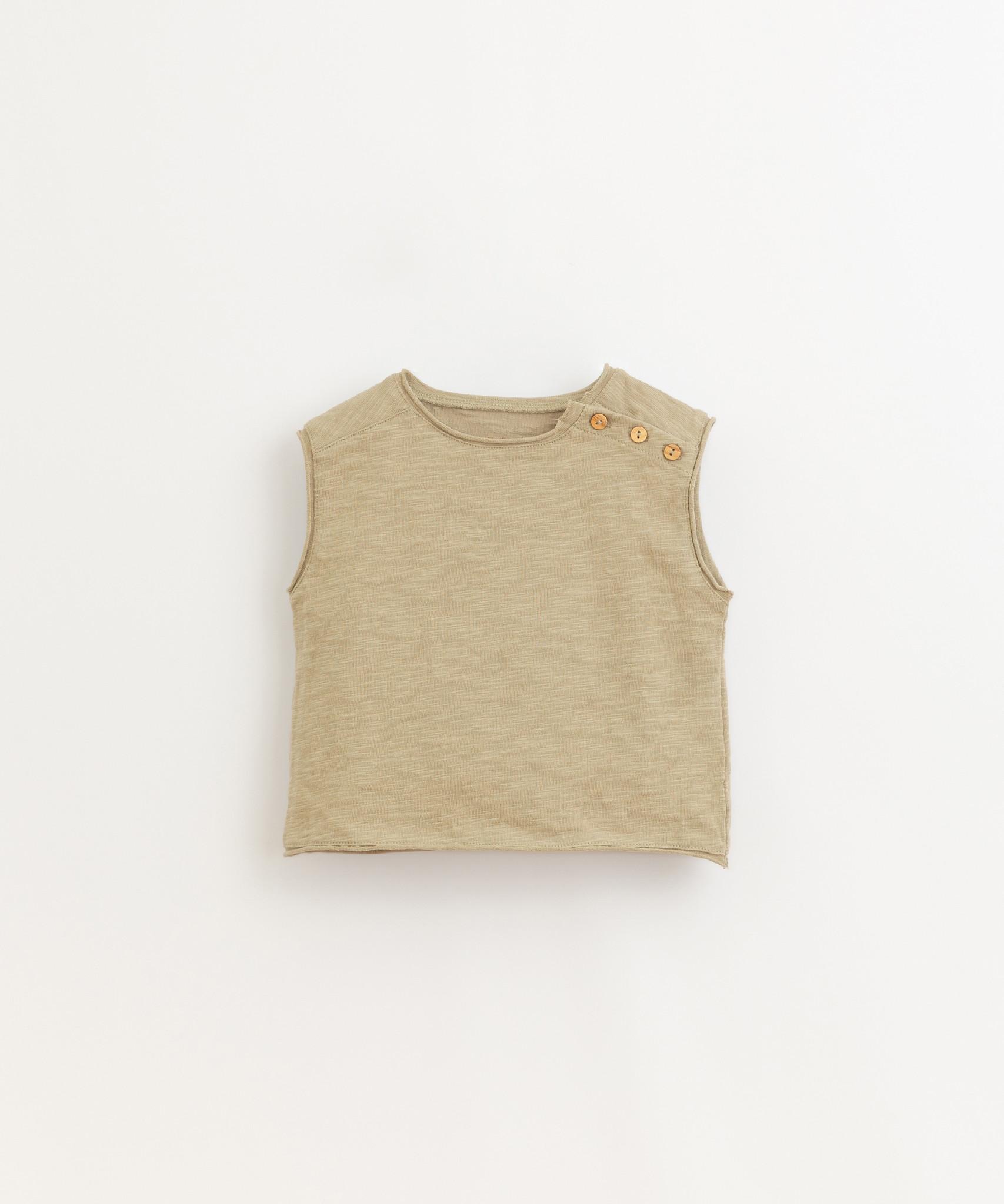 Play-up Flame jersey sleeveless t-shirt| Joao