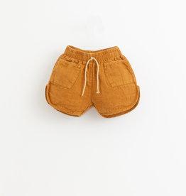 Play-up Linen shorts | Hazel