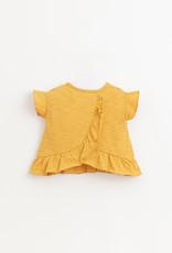 Play-up Flame jersey t-shirt| Sunflower
