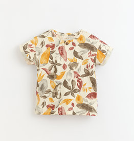 Play-up Printed jersey t-shirt | Dandelion