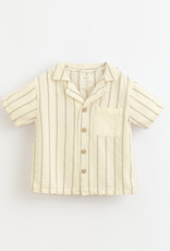 Play-up Striped woven shirt| Dandelion