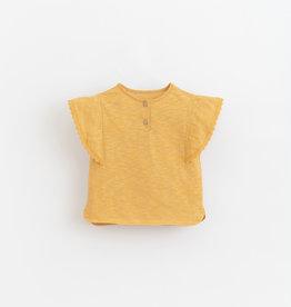 Play-up Flame jersey t-shirt | Sunflower