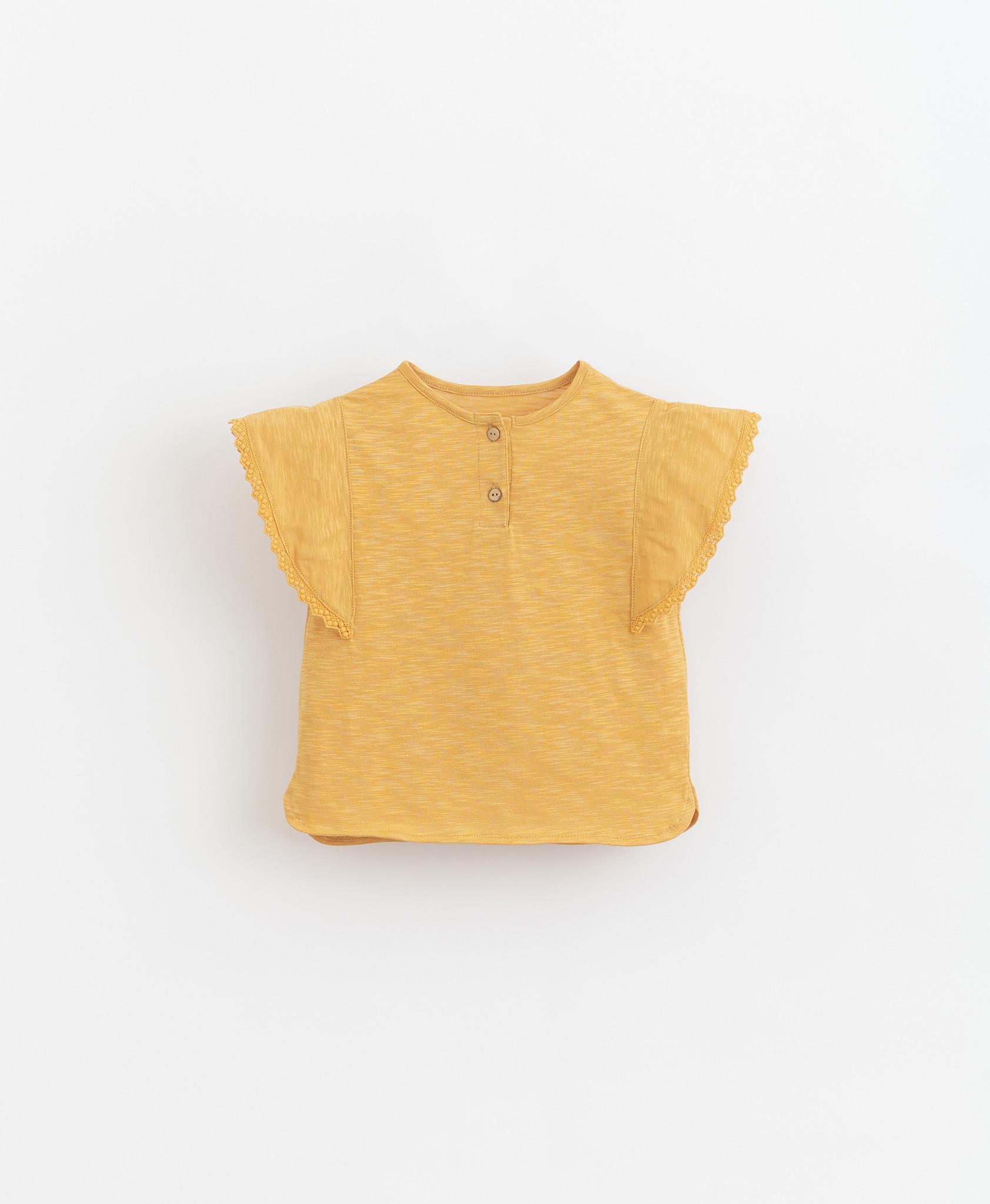 Play-up Flame jersey t-shirt   Sunflower