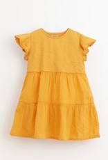 Play-up Mixed dress | Sunflower