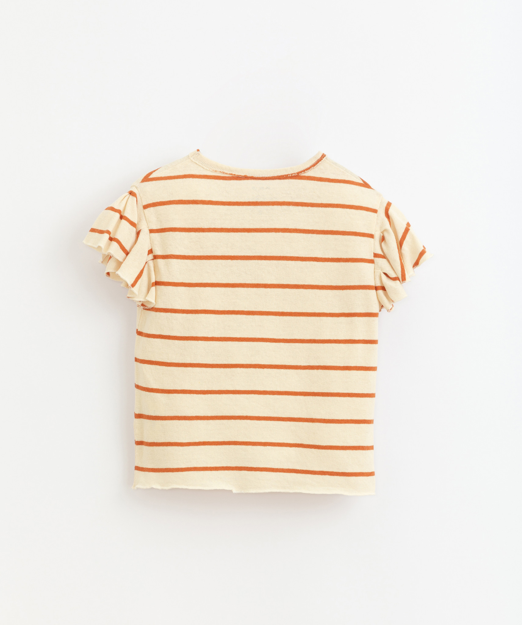 Play-up Striped jersey t-shirt | Anise