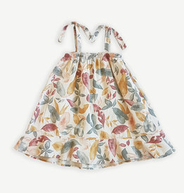 Play-up Printed woven dress | Mushroom