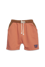 Wander & Wonder Color Block Shorts | Copper