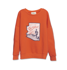 Wander & Wonder Summer Sweatshirt | Fire
