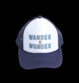 Wander & Wonder Trucker Cap   Navy blue