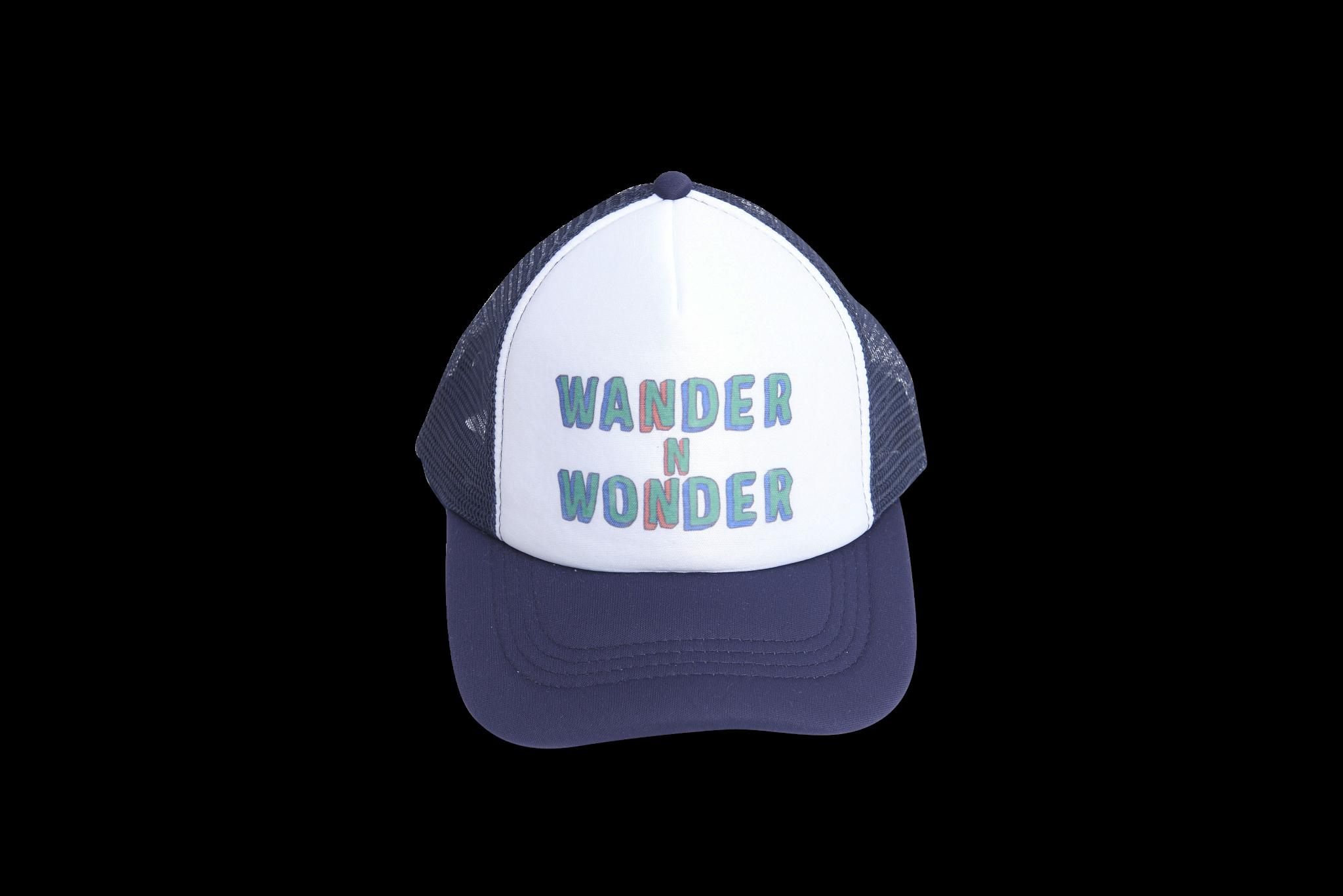Wander & Wonder Trucker Cap | Navy blue