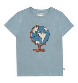 CarlijnQ Globe t-shirt with print