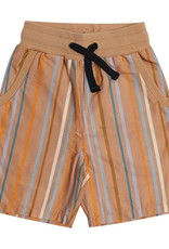 CarlijnQ Multi-color stripes bermuda
