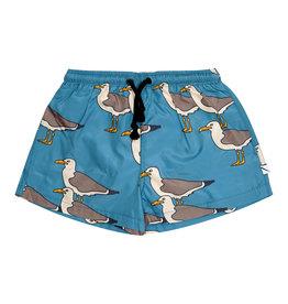 CarlijnQ Seagull swim bermuda shorts