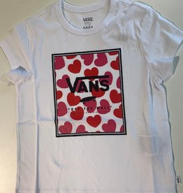 Vans Girls Boxed Hearts T-shirt