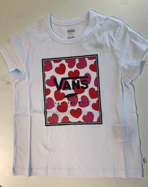 Vans Girls Boxed Hearts T-shirt
