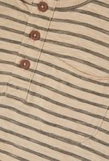 Lil Atelier Loos Top Longsleeve  | Hummus Stripe