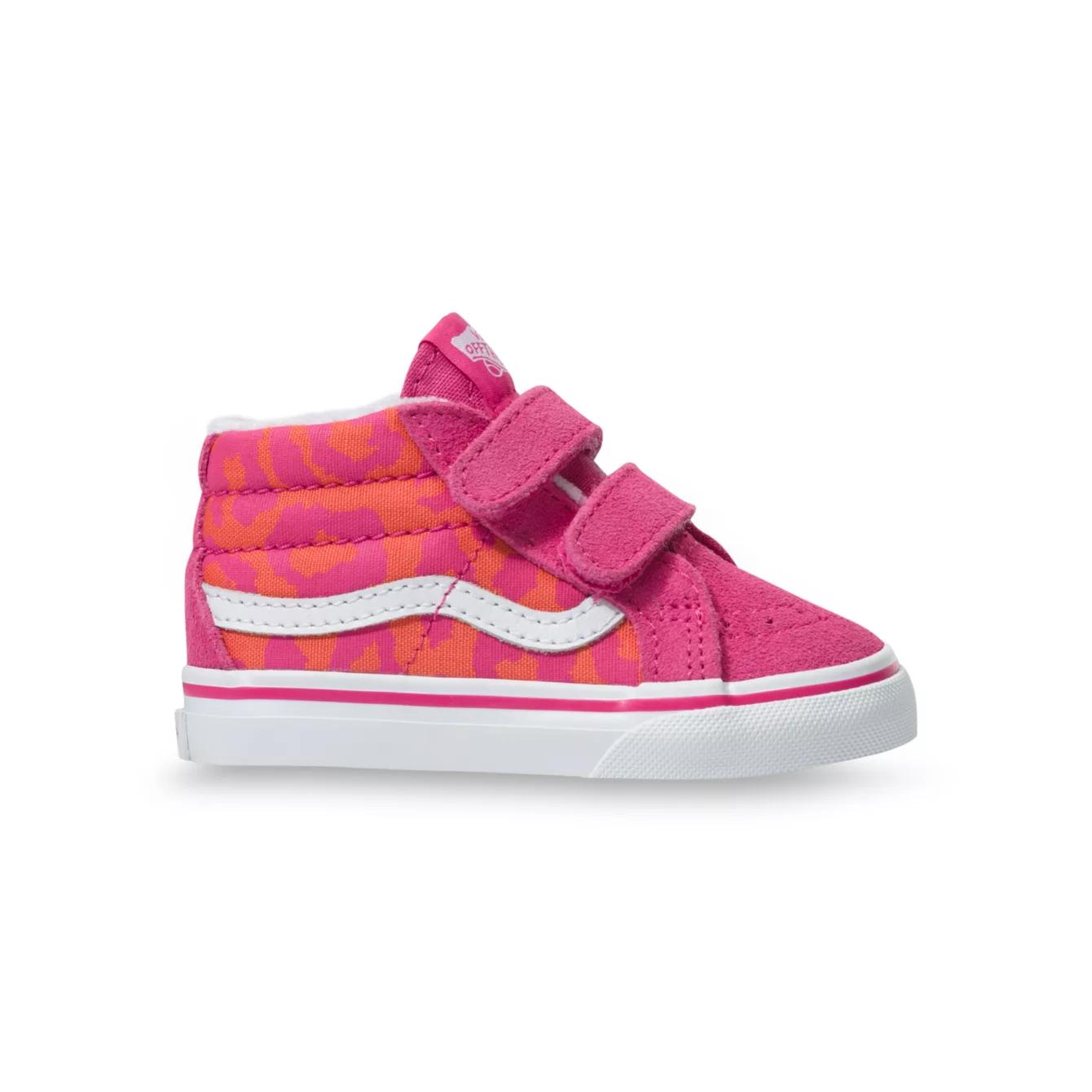 Vans SK8-MID Reissue V | Leopard/Pink