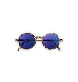 Izipizi Sunglasses G junior blue mirror lenses | Blue tortoise  G