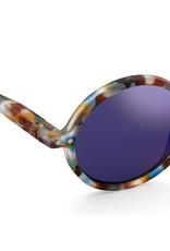 Izipizi Sunglasses G junior blue mirror lenses   Blue tortoise  G