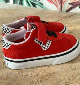 Vans Sport checkerboard | red