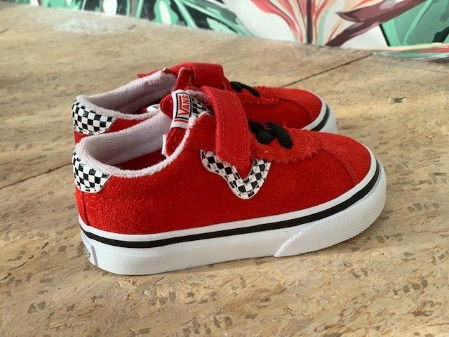 Vans Sport checkerboard | red