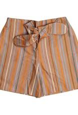 CarlijnQ Multi color stripes paperbag