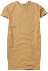 Mingo T-shirt dress Light ochre