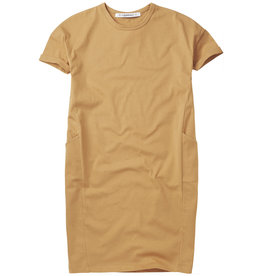 Mingo T-shirt dress Light ochre