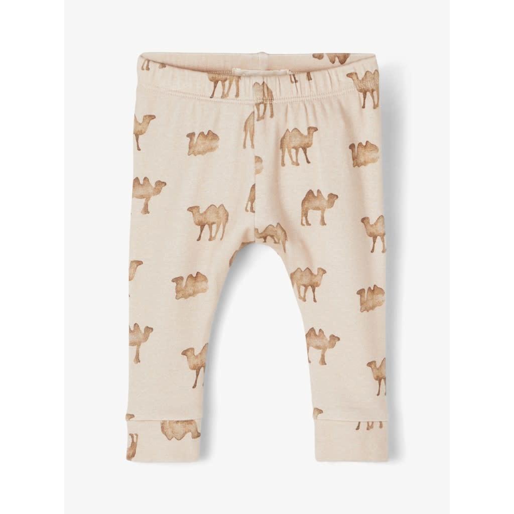 Lil Atelier Slim leggings   Camels