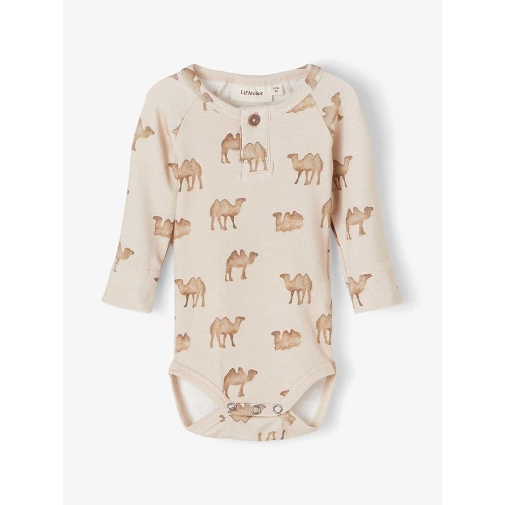 Lil Atelier Slim body   Camels