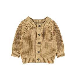 Lil Atelier Knit cardigan Apple Cinnamon/melange