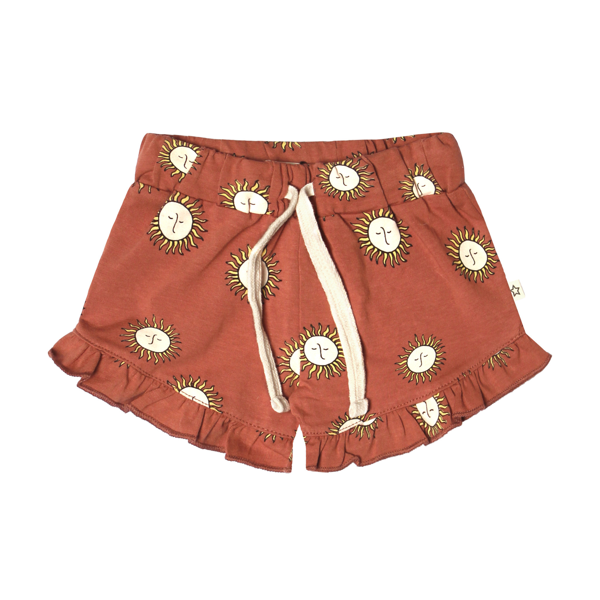 Your Wishes Sunny Ruffle Shorts