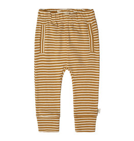 Your Wishes Gold Stripes Fitted pants