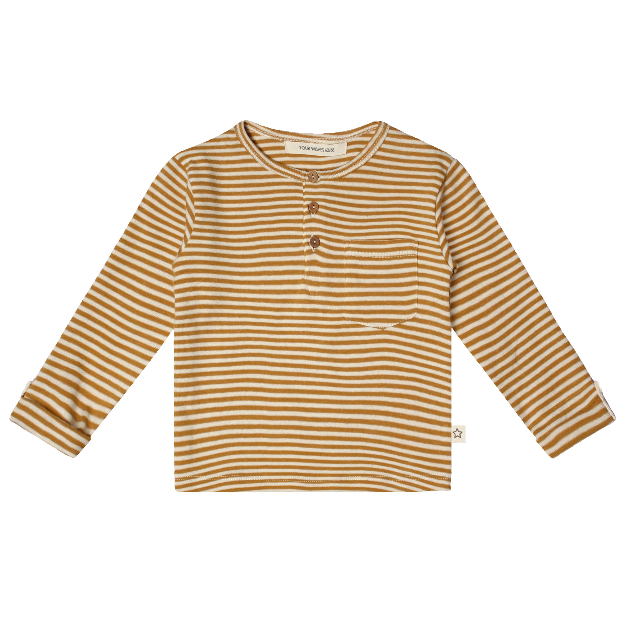 Your Wishes Gold Stripes Grandpa Longsleeve