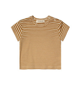 Your Wishes Gold Stripes Loose Tee