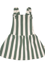 Your Wishes Bold Stripes Dungaree Dress