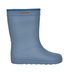 en'fant Rubber Rain boot Solid | Flint Stone