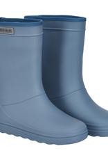 en'fant Rubber Rain boot Solid   Flint Stone